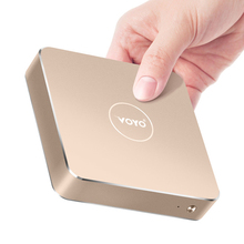 Intel apllo VOYO N3450 4 ядра Мини-ПК 4096*2304 Оперативная память 4 ГБ + 120 ГБ SSD HDMI WI-FI лицензии Windows10 ТВ Box multi-язык media box