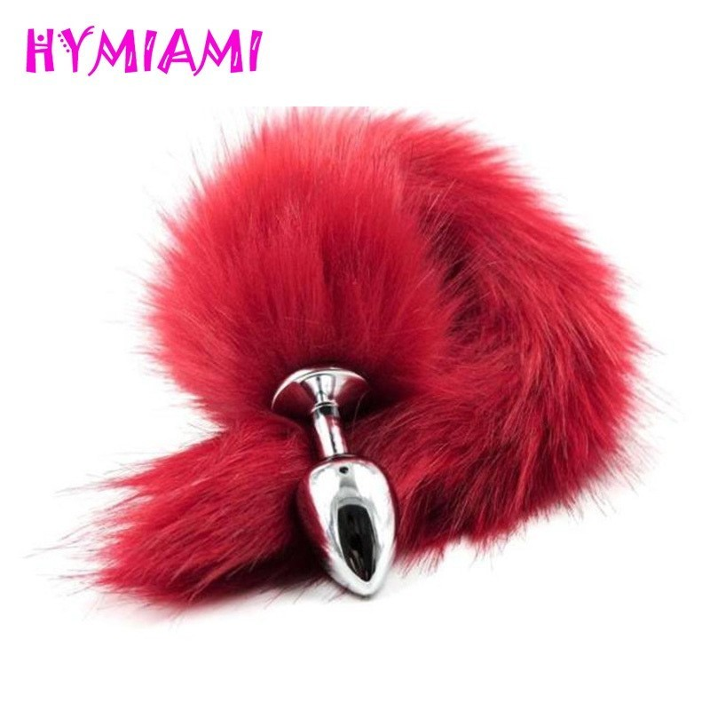 HYMIAMI Metal Fox Anal Plug Adult Toys For woman men Woman,Anal Butt Plugs Tail Sex Products Shop Special Erotic Anal sex toys fox tail anal plug butt plugs dog tail anal sex toys adult games g spot prostata massage anal dilator sex products for couples