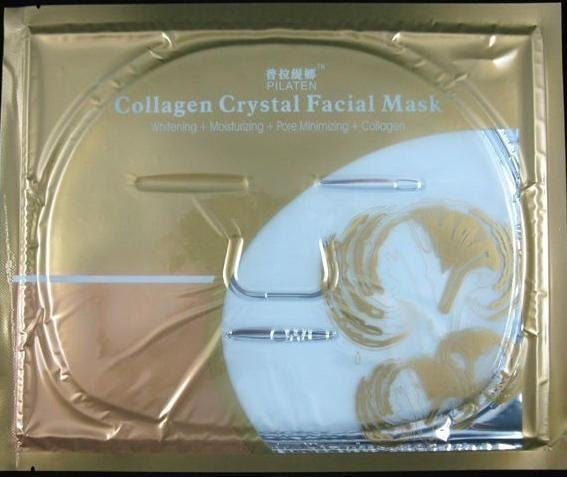 Free shipping,Collagen Crystal Facial Mask, Safety mask, 10pcs/lots, cheap face mask