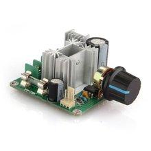 10A PWM Controladores de Velocidad DC Controlador de Velocidad Del Motor Regulador de Voltaje DC 9 V-55 V