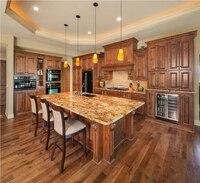 2017 деревянный кухонные шкафы традиционный стиль твердой древесины кухни мебель s1606003