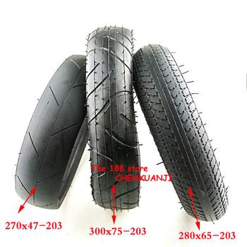 Dobrej jakości 280 #215 65-203tyre 270 #215 47-203 300 #215 75-203 wewnętrzne i zewnętrzne opona pasuje do dla dzieci trójkołowy wózek dla dziecka opona pneumatyczna tanie i dobre opinie CN (pochodzenie) rubber opony 0 69 270x47-203 300x75-203 280x65-203 tyre