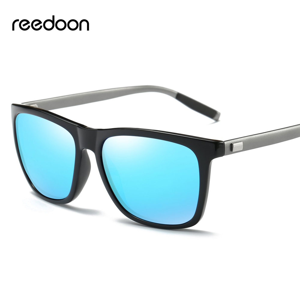 93b6f51069 Reedoon 2018 Brand Men Sunglasses Polarized Mirrored HD Lens Metal Frame  Cool Vintage Women Sun Glasses For Male Female A387
