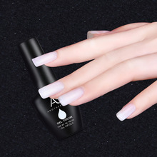 1pcs 15ml Milky White Transparent Nail Gel Polish Long Lasting Soak Off UV/LED Gel Varnish DIY Nail Art
