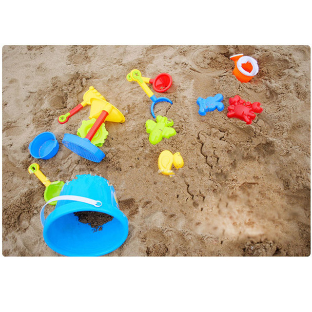 Chanycore Colorful Sand Water Beach Play Toys Set 13pcs Children ...