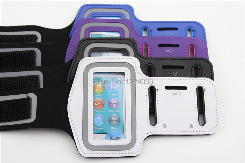 Mp3 Sports Running Arm Band Gym Exercise Case For Ipod Nano 7 7th 7g Bags