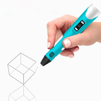 New Coming Creative 3D Intelligent Printing Pen Stereo Toys Funny Antistress Spinner For Children Gifts Educational Toys