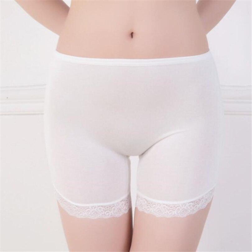 CUHAKCI High Waist   Shorts   Summer Fashion Free Size Women Girl Sexy Elastic Crotches Casual Soft Black White Lace   Shorts   Femme