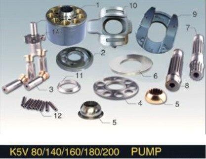 Kawasaki series hydraulic piston oil pump engine parts K5V140 spare parts Doosan 300-7 repair kit oil pump 15471 35012 for 02 03 series engine v2203 v1902 v1903 d1102
