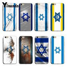 Yinuoda Israel Flag Ultra Thin Cartoon Pattern Phone Case For iPhone 8 8plus 7 7plus 6 6splus X XS XR Cover(China)