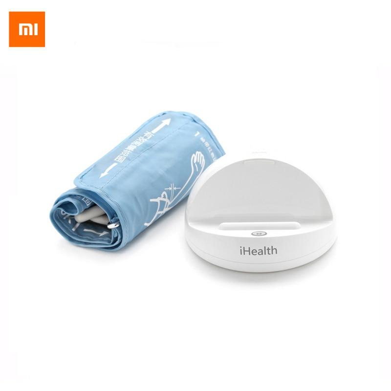 Original Xiaomi iHealth Bluetooth Smart Blood Pressure Dock Monitor System For Xiaomi Series Electronic Gadgets Smart Phones видеоняня ihealth ibaby monitor m6