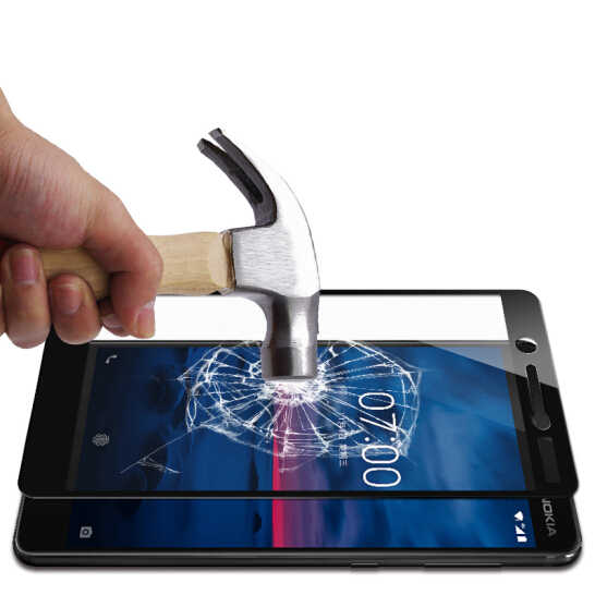 3D كامل غطاء الزجاج المقسى لنوكيا 2 3 5 6 7 8 الزجاج واقي للشاشة
