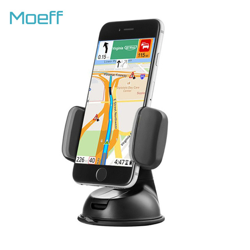 Universal Car Mobile Phone Holder Stand Mount Slicone Sucker Windshield 360 degree rotation