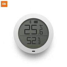 Nowy Xiao mi Bluetooth czujnik temperatury i wilgotności termometr cyfrowy miernik wilgotności czujnik ekran LCD dla mi jia mi app domu
