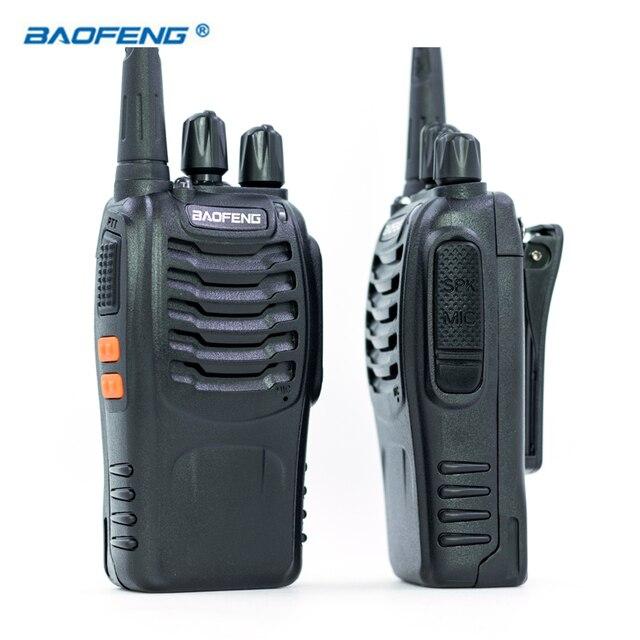 2 PCS Baofeng BF-888S Walkie Talkie UHF FM 400-470MHz CB Radios HAM Portable Radio Transceiver 16 Channel Stereo Hunting Station