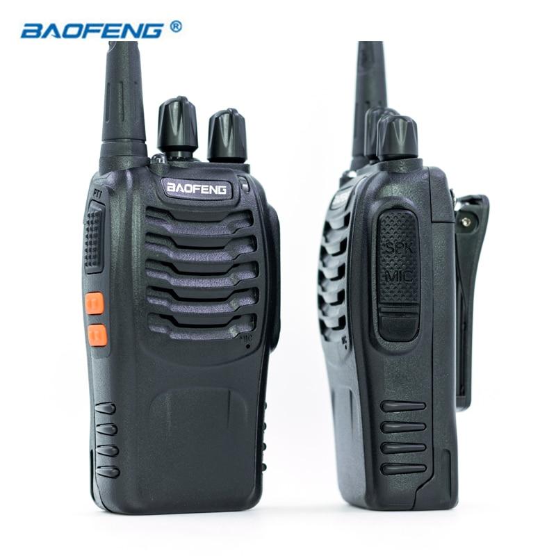 2 pz Baofeng BF-888S Walkie Talkie UHF FM 400-470 mhz Radio CB HAM Radio Portatile Ricetrasmettitore 16 Canali stereo Caccia Stazione