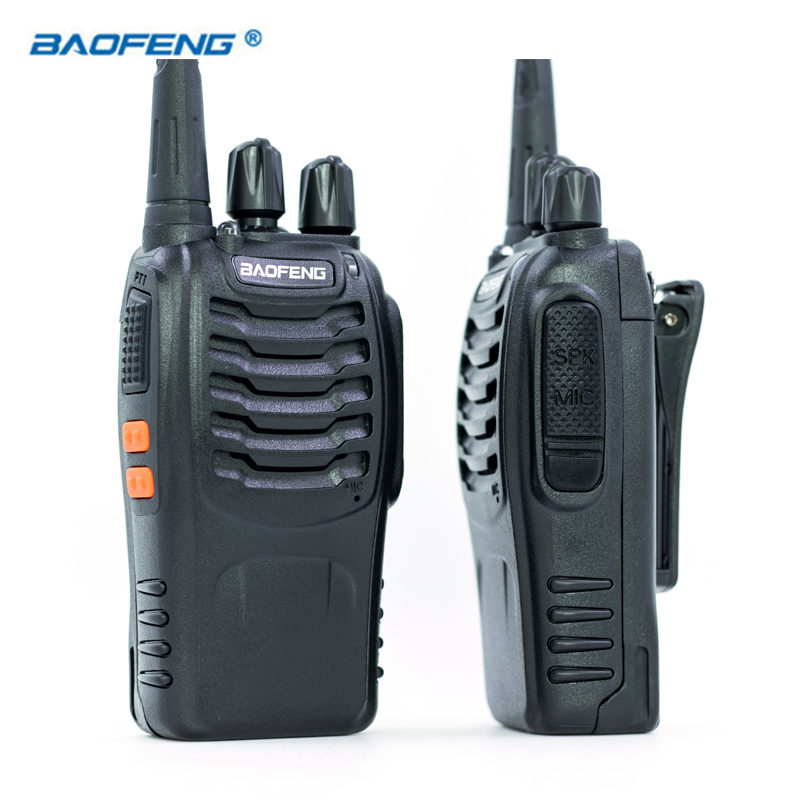2 stücke Baofeng BF-888S Walkie Talkie UHF FM 400-470 mhz CB Radios SCHINKEN Tragbare Radio Transceiver 16 Kanal stereo Jagd Station
