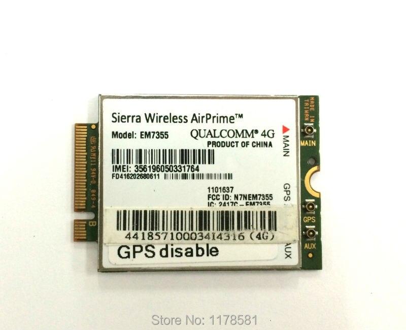 Sierra Wireless EM7355 4G LTE Modem 4G NGFF Card
