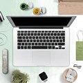 Евро Ввести Английский Клавиатура Водонепроницаемая Крышка для Macbook Retina 13 15 Pro 13 15 17 Воздуха 13 Силикона Стикер
