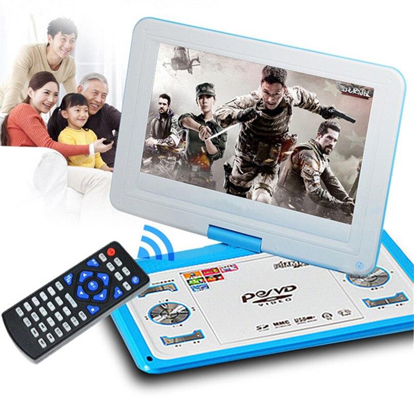 HD veliki ekran 14-inčni video DVD player Prijenosni DVD Podrška - Kućni audio i video - Foto 6