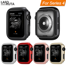 Laforuta Bumper for Apple Watch Series 4 40mm 44mm Case iWatch Thin Protector Plastic PC Cover Accessories