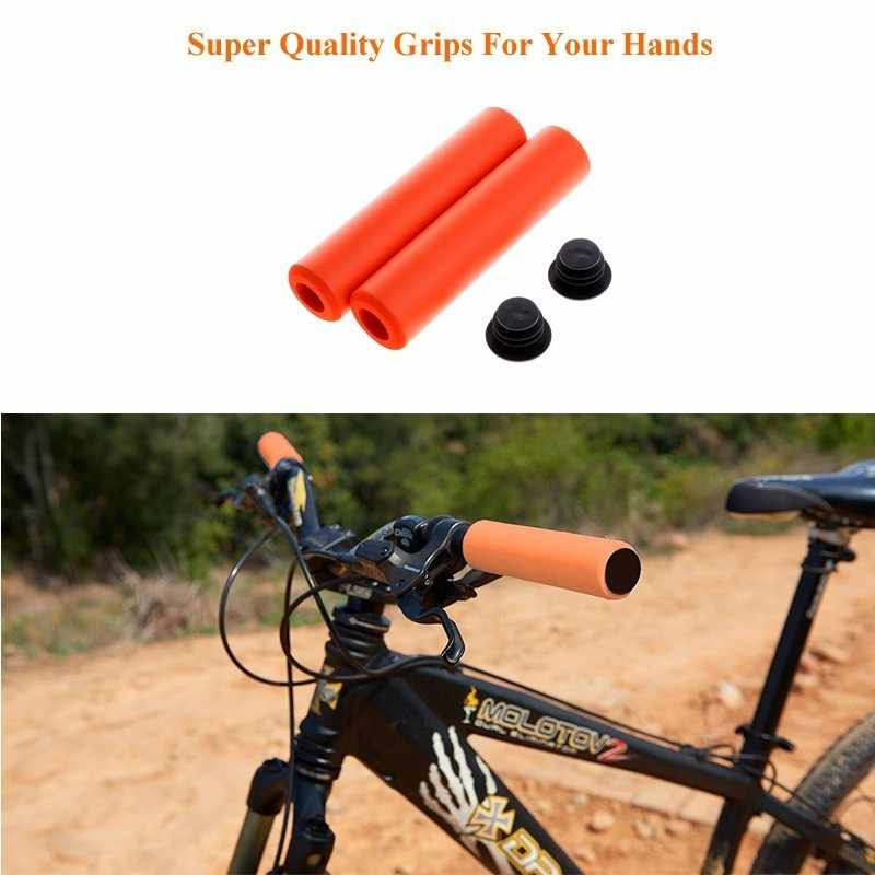 Hot Soft Foam Sponge Bar Grips Cover Bike Cycle Bicycle MTB X3E3