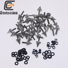 Spike Fairing Bolts Screw Washers Kit For Yamaha YZF R6 2003 2004 2005 2006 2007 free customize fairing kit fit for yamaha r6 2003 2004 2005 yellow matte black yzf r6 fairings set 03 04 05 156