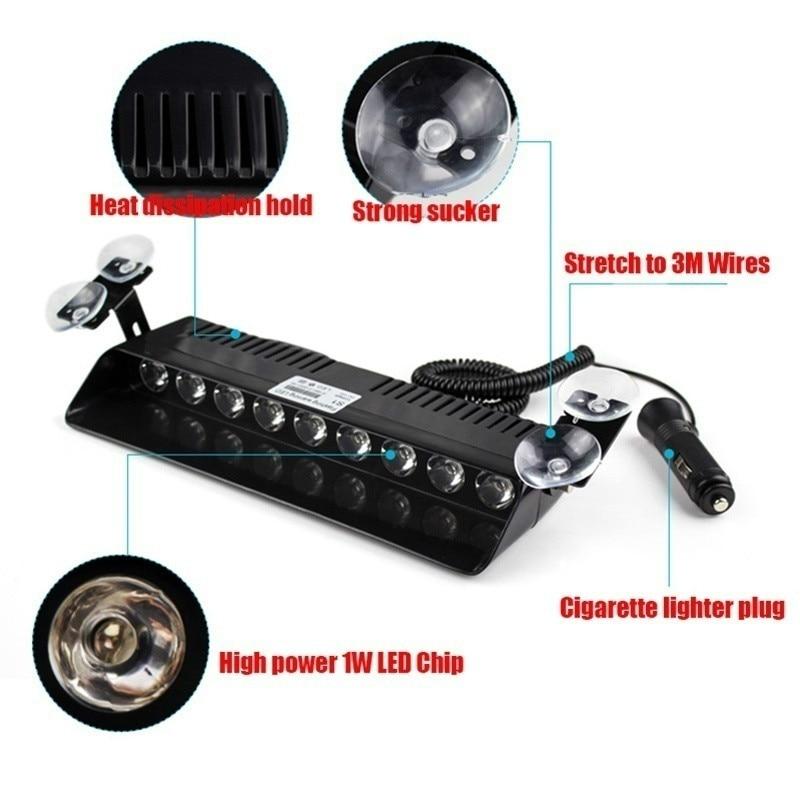 AEING 1 dəst 9 LED Avtomobil üçün Harzard DashBoard Təcili - Avtomobil işıqları - Fotoqrafiya 2