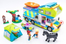 New Friends Girl bus Motorhome fit legoings friends font b figures b font city bus Building
