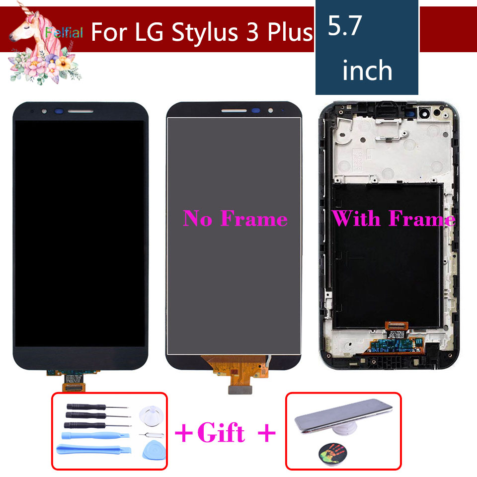 Original For LG Stylus 3 Plus M470 M470F MP450 TP450 LCD Touch Screen and Digitizer With