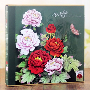Image 5 - 640 Sheets Photo Album with Gift Box General Interleaf Type Children Photo Album Transparent PVC Pages for 5 6 7 8 Inch Picture