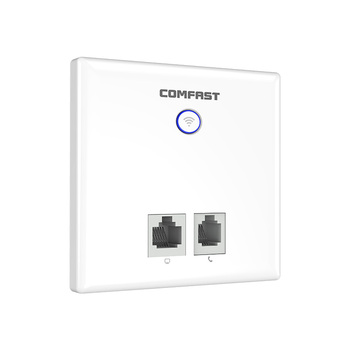 5.8Ghz 750Mbps Dual Band Indoor AP 86 Panel Socket WiFi in Wall AP Wireless Access Point 2*RJ11 WAN LAN RJ45 Port ac wifi Router