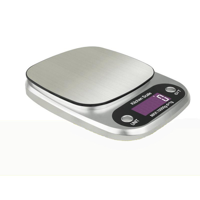 digital kitchen scale touch grams measure tools diet food vegetable