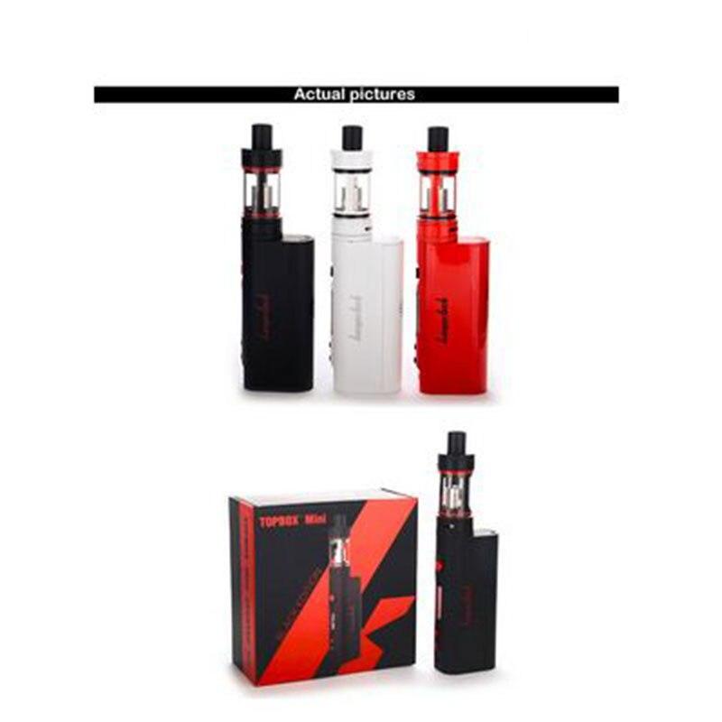 Mini Kit de démarrage d'origine kangertech topbox vape avec mini Cigarette électronique de contrôle de température