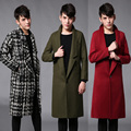 2017 big European and American Metrosexual winter coat men long coats Paris Catwalk Fashion Menswear
