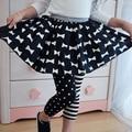Kids Girls Toddlers Polka Dot&Stripe Leggings Render Pants Trousers
