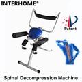 Patenteado de Descompressão Da Coluna Vertebral Boa Eficiente Coluna Lombar Cintura Corpo Alongamento Dispositivo de Terapia de Tração para Lumbago Dor Lombar