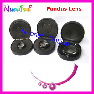 Image 4 - 20D As Good As volk Lens! Ophthalmic Aspheric Fundus Retina Slit Lamp Contact Lens Black Leather Metal Case Packed Free Shipping