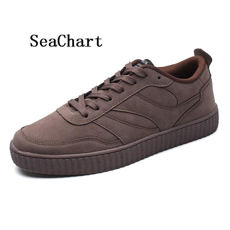 Prix pour SeaChart Nouvelle Arrivée 2017 Hommes de Planche À Roulettes de Chaussures Chaussure Homme Hommes Sneakers Streety scarpe da planche à roulettes Livraison Gratuite