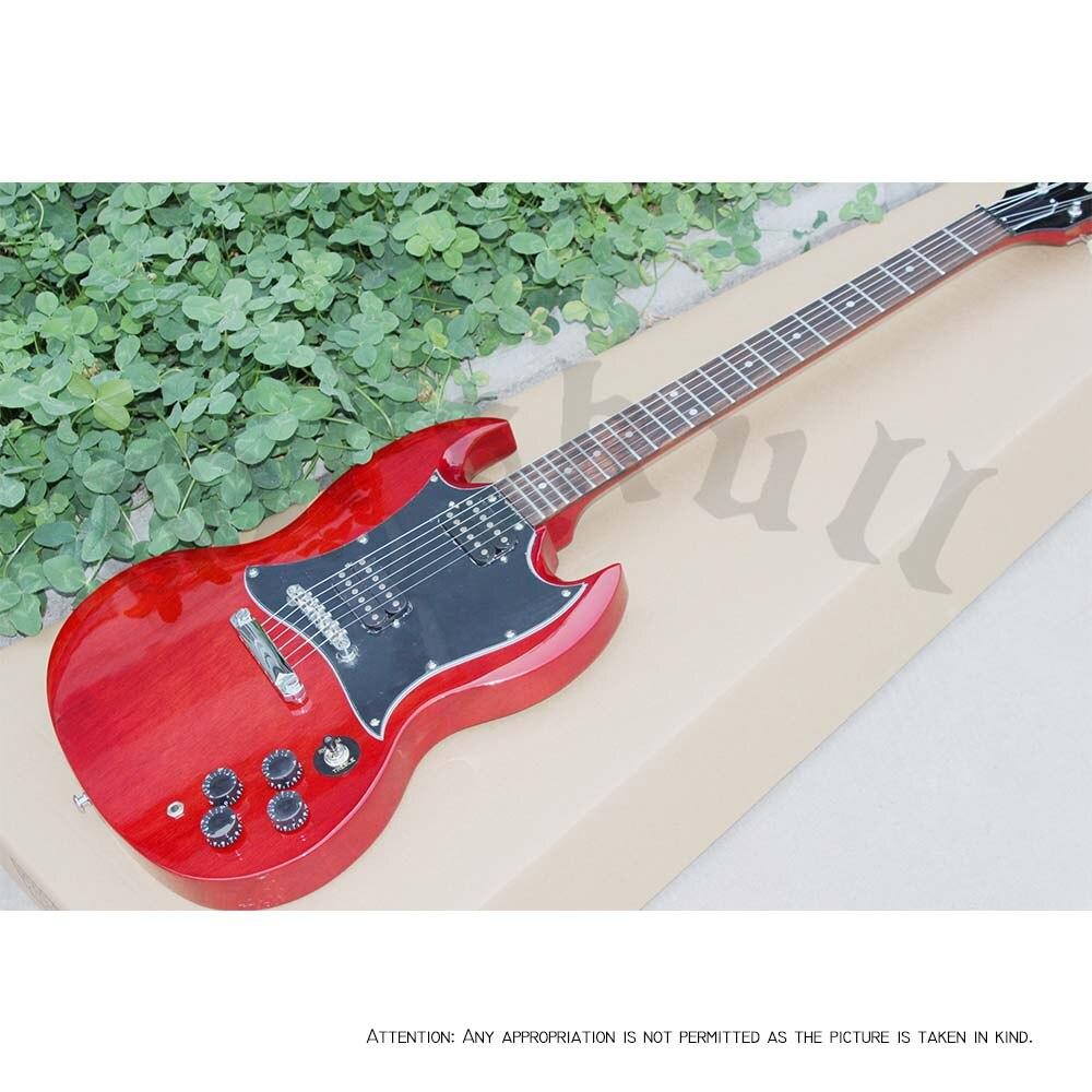 OEM Guitars SG 1998 Cherry Red Electric Guitar HH Humbucker 22Fret