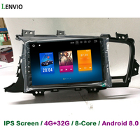 Lenvio RAM 4G+32G Octa Core Android 8.0 CAR DVD Player For KIA Optima K5 2011 2012 2013 Radio GPS Navigation multimedia BT IPS