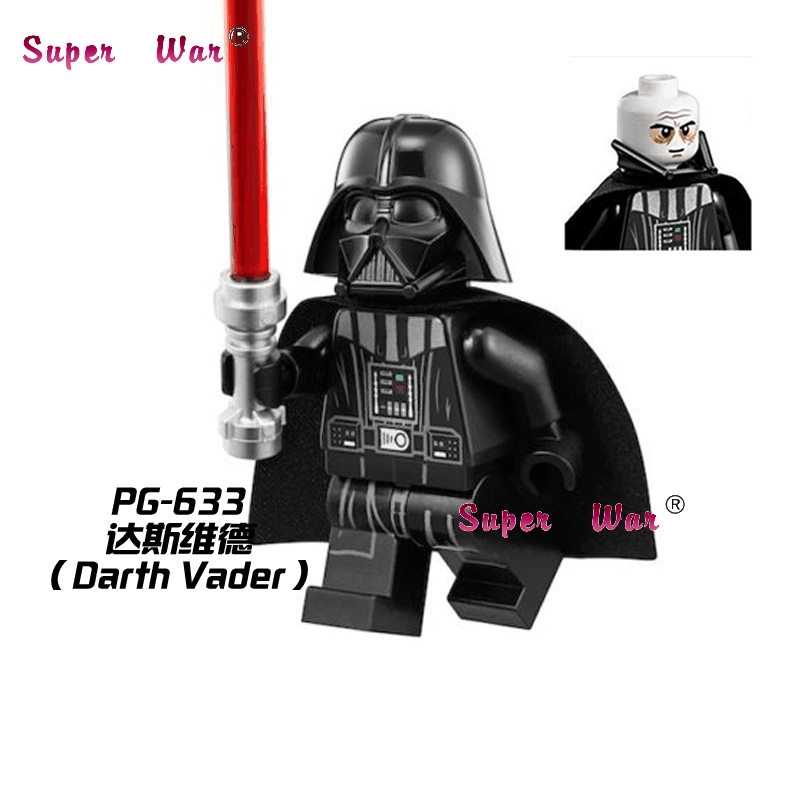 1PCS  Superhero Marvel Darth Vader Collection Building Blocks Action  Sets Model Bricks Toys For Children
