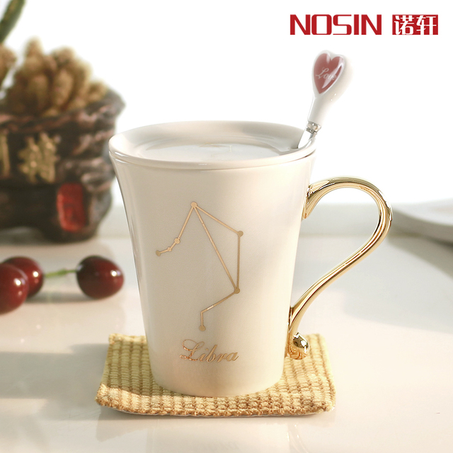 Astrology Horoscope 12 Constellation mugs lovers cup creative ...