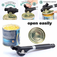 New Professional Good Quality Manual Kitchen Seniors Side Cute Safe Can Opener Free Shipping