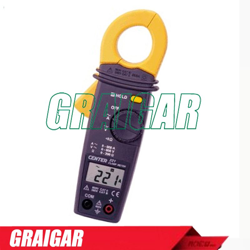 CENTER-221 mini clamp meter, clamp meter tester, AC CLAMP METER,Free shipping platinor platinor 50200 221