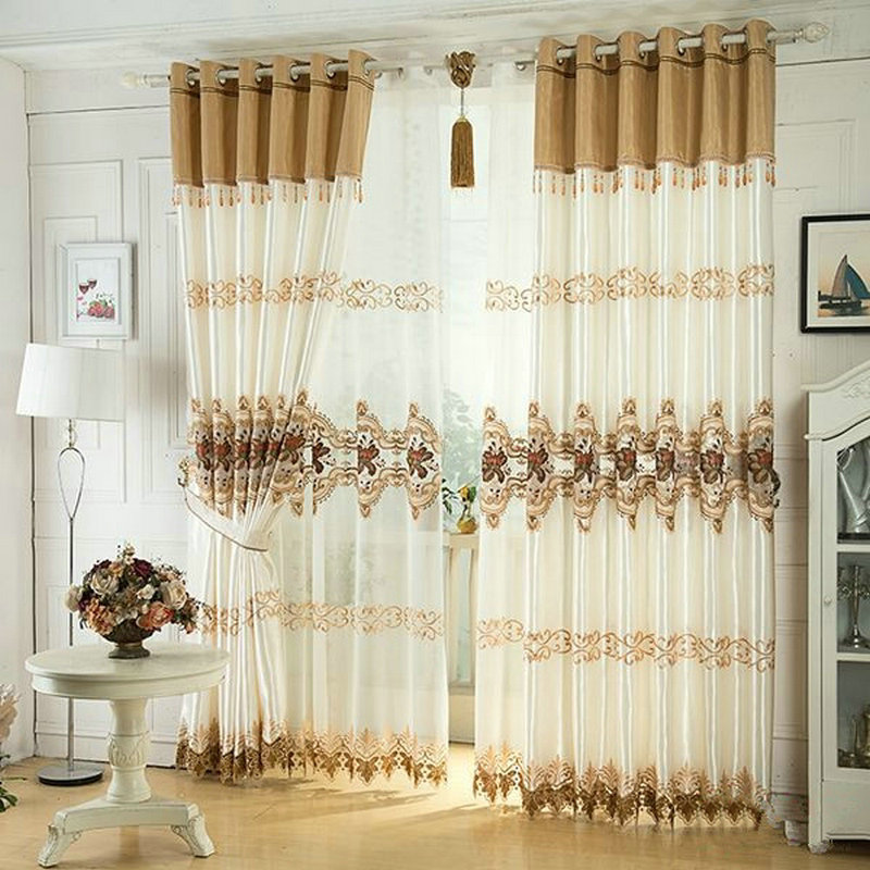 Home Design Ideas Curtains: Aliexpress.com : Buy Luxury Window Curtain For Living Room