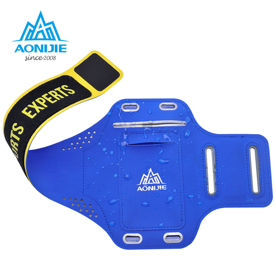 AONIJIE Outdoor Ultra Light Sport Running Bag Мөлдір - Спорттық сөмкелер - фото 5