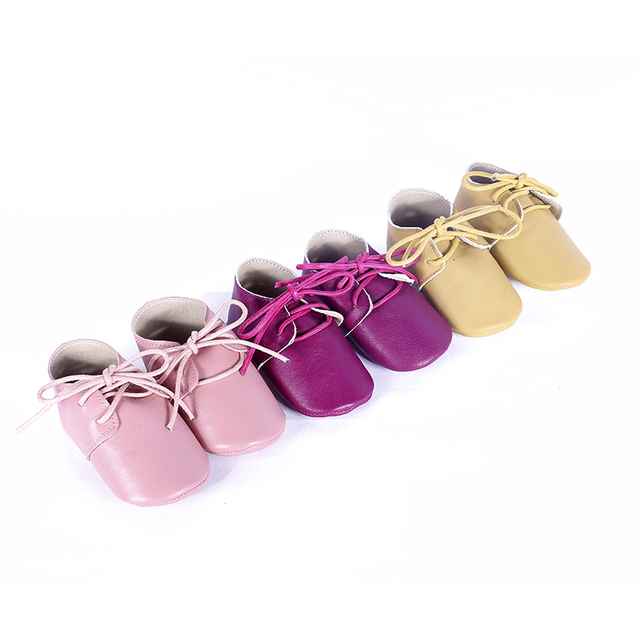 Genuine leather Baby Moccasins Solid  Suede Baby Shoes Chaussure newborn Baby boys girls shoes First Walkers