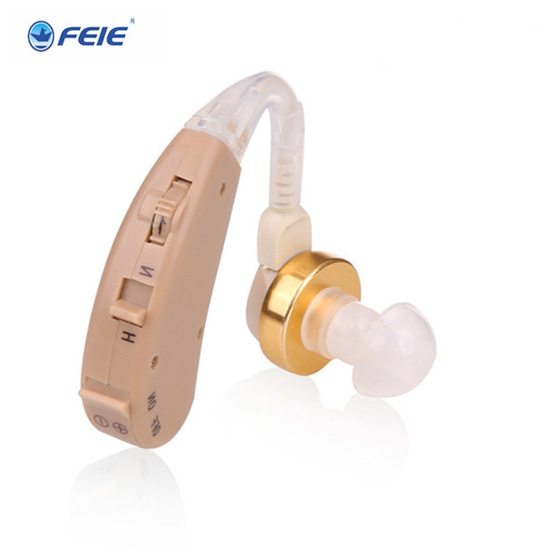 Newest BTE Hearing Aid Personal Sound Amplifier Ear hearing aids for the elderly TV Hearing device S-168 Drop Shipping s 217 digital audio service hearing aid bte hearing impairement for elderly factory direct china drop shipping