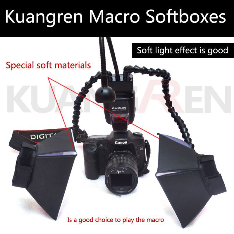 Professional folding macro lights Softboxes Kuangren Macro Professional folding macro lights Softboxes
